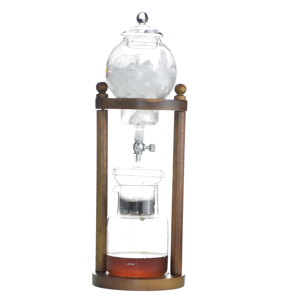Ecocoffee BD8 Wooden Pillar Ice Coffee Brewer